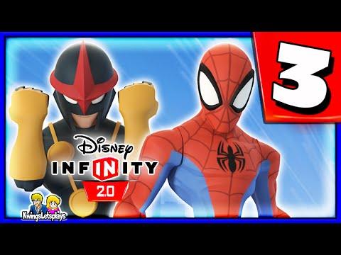Disney Infinity 2.0 Spider-man Walkthrough Part 3 (interrupted Upload) Spiderman Playset video