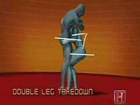 Human Weapon Pankration - Double Leg Take down Image 1