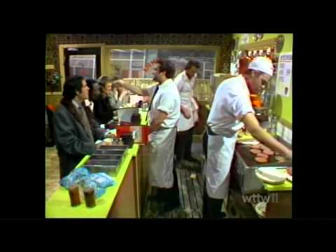 Hamburgers on Saturday night live