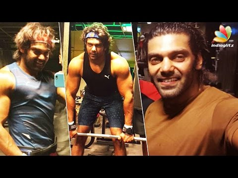 Arya's power packed work out video | Hot Tamil Cinema News
