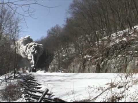 Western Maryland 734 - Snow Train '99 - 10 Minutes