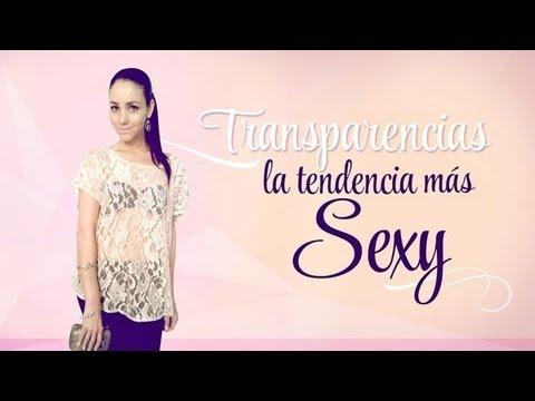 Transparencias: la tendencia más sexy