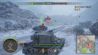World of Tanks PS4 FV215b 183 Ace Tanker!