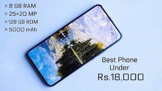 Top 5 Best Budget Smartphones Under ₹17,999 in November 2018