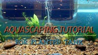 Aquascaping Tutorial (for planted tank)। প্লান্টেড একুরিয়াম সাজানোর পদ্ধতি