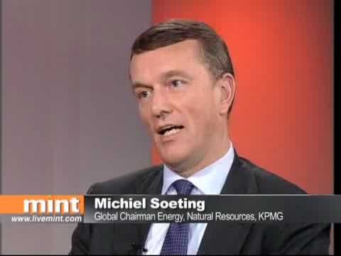 Michiel Soeting of KPMG interviewed in Mumbai on trends in Oil and Gas