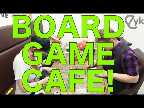 Korean Board Game Cafe