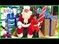 Ryan and Babies first time meeting the real Santa Claus at Disney! MP3