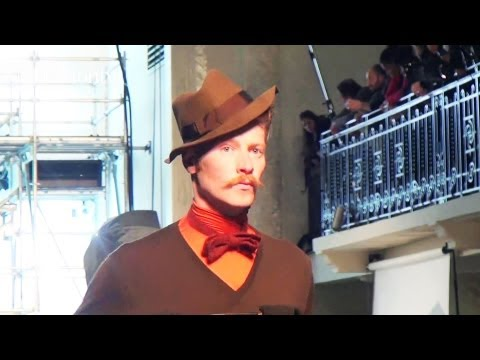 Jean Paul Gaultier Men Fall/Winter 2012-13 Show at Paris Men's Fashion Week | FashionTV - FTV FMEN
