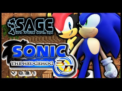 Sonic The Hedgehog 3d - Sage 2014 video