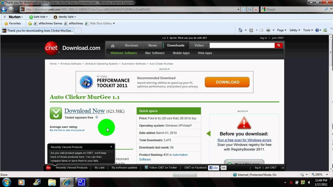 AutoClicker download  SourceForgenet