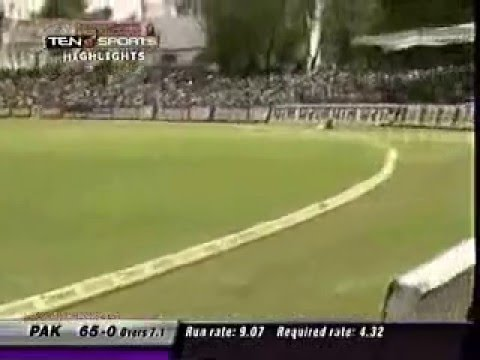 Afridi's 45-ball Century Vs India video