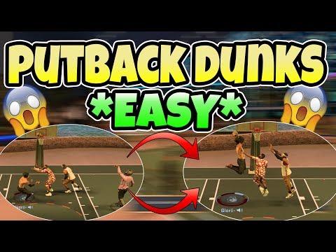NBA 2K17- HOW TO DO PUTBACKS! EVERY SECRET, TRICK, TIPS AND TECHNIQUE I KNOW!