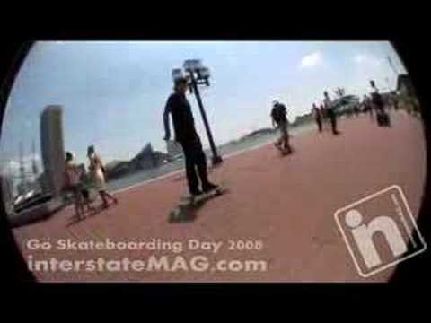Go Skateboarding Day 2008 with Bucky Lasek