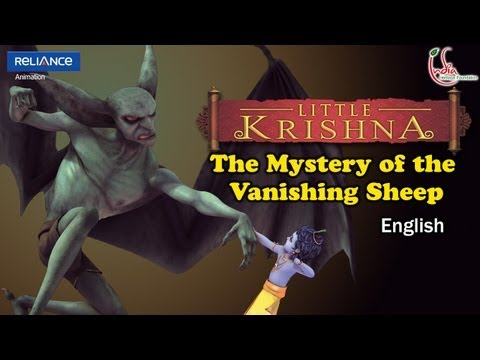 Little Krishna English Episode 11 the Mystery Of The Vanishing Sheep Animation Series video