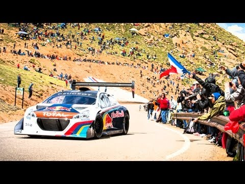 Sébastien Loeb s Record Setting Pikes Peak Run - Full POV