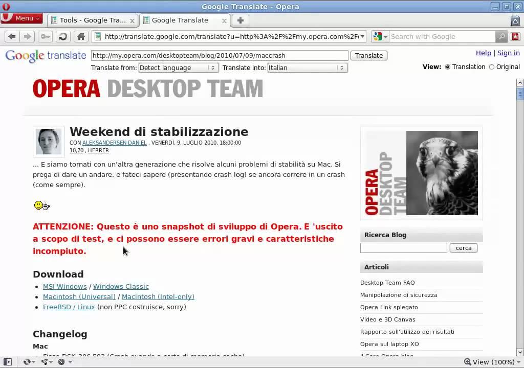 Расширение Translator - Дополнения Opera - Opera add-ons