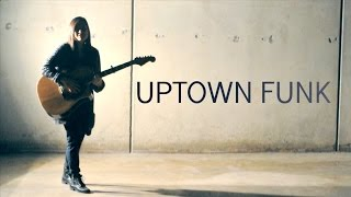 """""""Uptown funk"""" Bruno Mars Ft. Mark Ronson (Acoustic Cover)"""