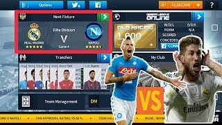 Real Madrid🆚Napoli▶UEFA Final Match | Dream Match | Dream League Soccor 2018 GAMEPLAY |