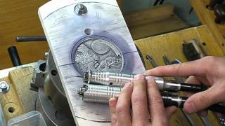 Steve Adams Coin Engraving Carving - Part Two
