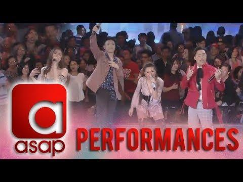 "ASAP: Darren, Isabela, Morissette, and Sam perform ""Rock Baby Rock"""