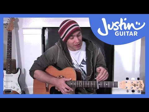 Using a Capo (Guitar Lesson BC-163) Guitar for beginners Stage 6