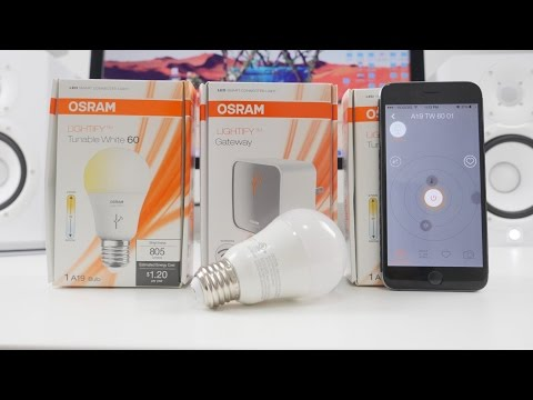 BEST SMART LED BULB - Lightify LED Review