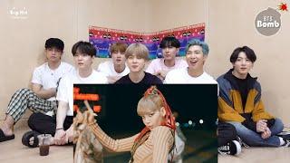 Download lagu BTS REACTION TO LISA - 'MONEY' PERFORMANCE VIDEO