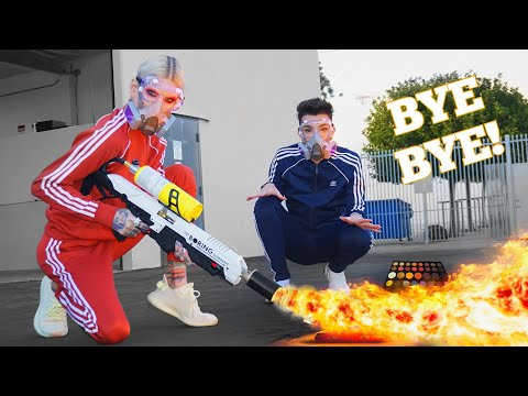 Destroying Makeup We Hated In 2018 feat. James Charles