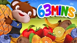appMink Fruit Train - appMink Learn Fruit Name with Steam Train - appMink playlist 63 minutes