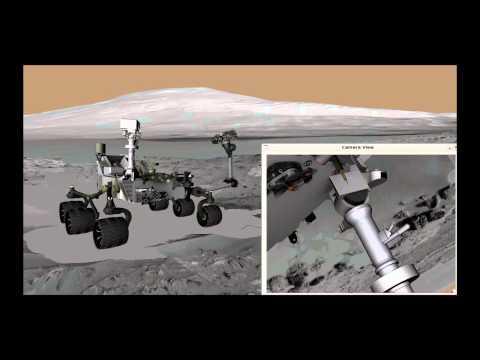Cum își face roverul Curiosity un selfie