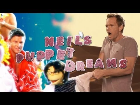 NPH & JOE MANGANIELLO crash DAVID BURTKA S DREAM BUMP - Neil s Puppet Dreams