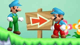 Another Super Mario Bros Wii - 2 Player Co-Op - #14