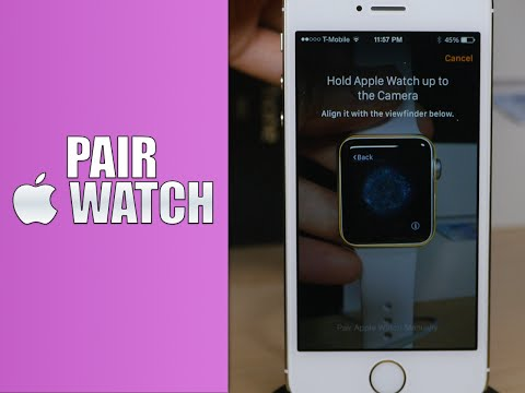 How to pair the Apple Watch with an iPhone