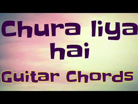 CHURA LIYA HAI TUMNE- YAADON KI BARAT-GUITAR LESSON .FLV