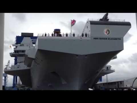 HMS Queen Elizabeth is named