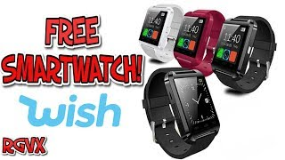 The FREE Smartwatch !!  Any Good ? (Just pay postage on Wish.Com) : U8 Review !