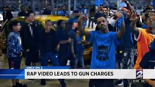 Rap video leads to gun charges
