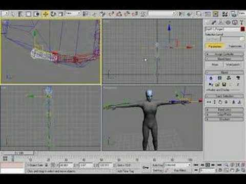 3ds max biped animation