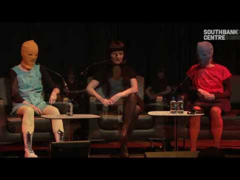 Pussy Riot in conversation at Yoko Ono's Meltdown