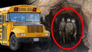 SCHOOL BUS WITH BODIES STILL TRAPPED HERE (HAUNTED 3RD TUNNEL)