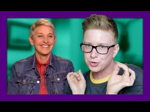 Lesbian Gossip Session (ft. Ellen) | Tyler Oakley thumbnail