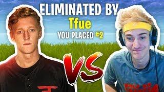 Tfue Beats Ninja in $20,000 Fortnite Tournament! (Final Match Highlights)