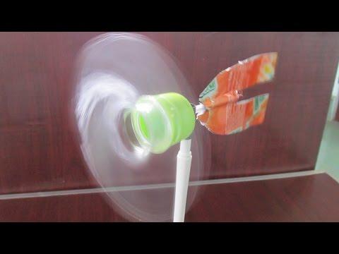 Ветряк из пластиковых бутылок своими руками 27