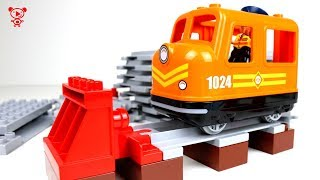 Trains for kids Lego duplo cargo train 10875 toys review