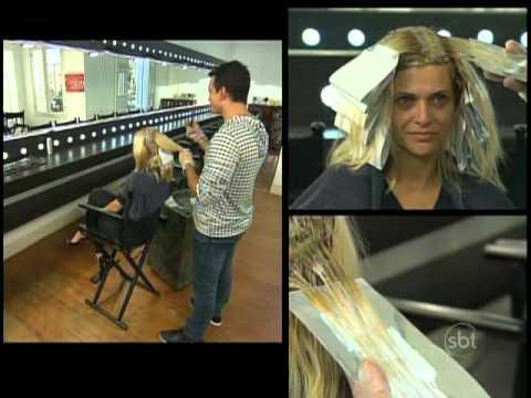 Esquadrão da Moda - Cintra faz um cabelo sofisticado na participante