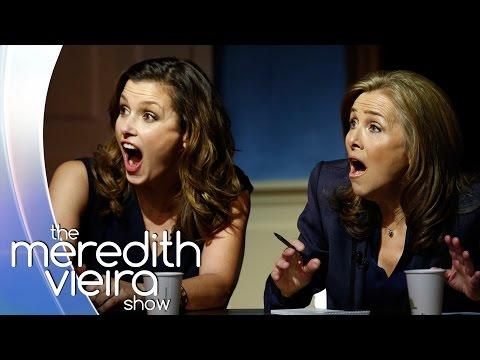 Can Bridget Moynahan Spot the Fake? | The Meredith Vieira Show