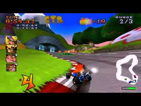 Misc Computer Games - Crash Team - Racing Theme