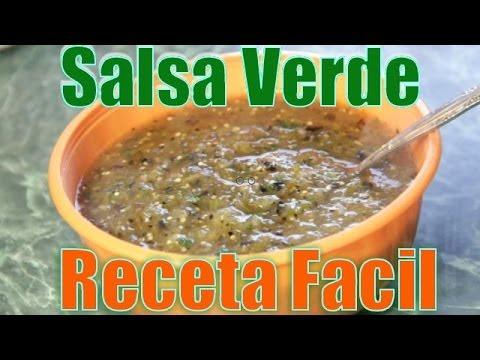 Salsa Verde | Receta Facil - Recetas en Casayfamiliatv