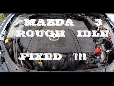 How I fixed Mazda 3 rough idle / missfire